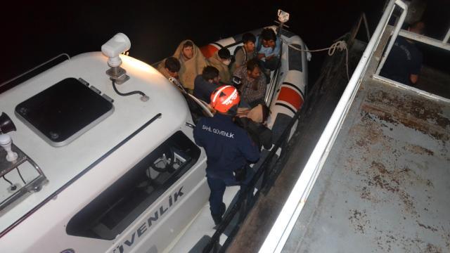 Van Gölünde 60 sığınmacı yakalandı