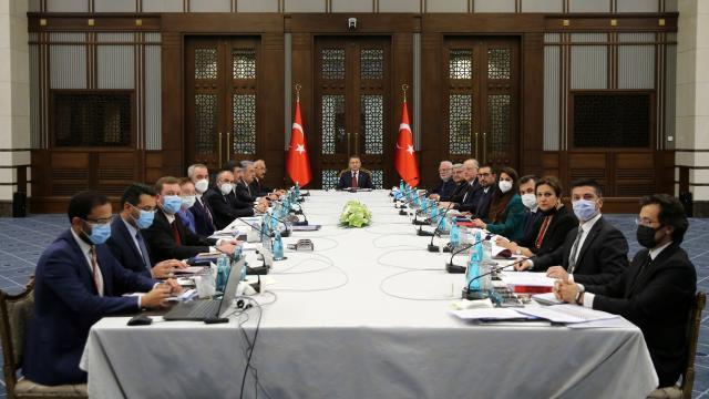 Cumhurbaşkanlığı Külliyesinde vergi düzenleme toplantısı