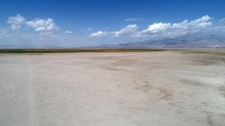 Yay Gölü'nde eylülde de kuraklık hakim