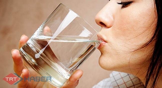 Çay, kahve değil, su tüketin!!