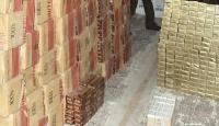 80 bin paket kaçak sigara ele geçirildi