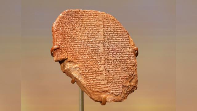 "ABD 3 bin 500 yıllık ""Gılgamış Rüya Tableti""ni Iraka iade etti"