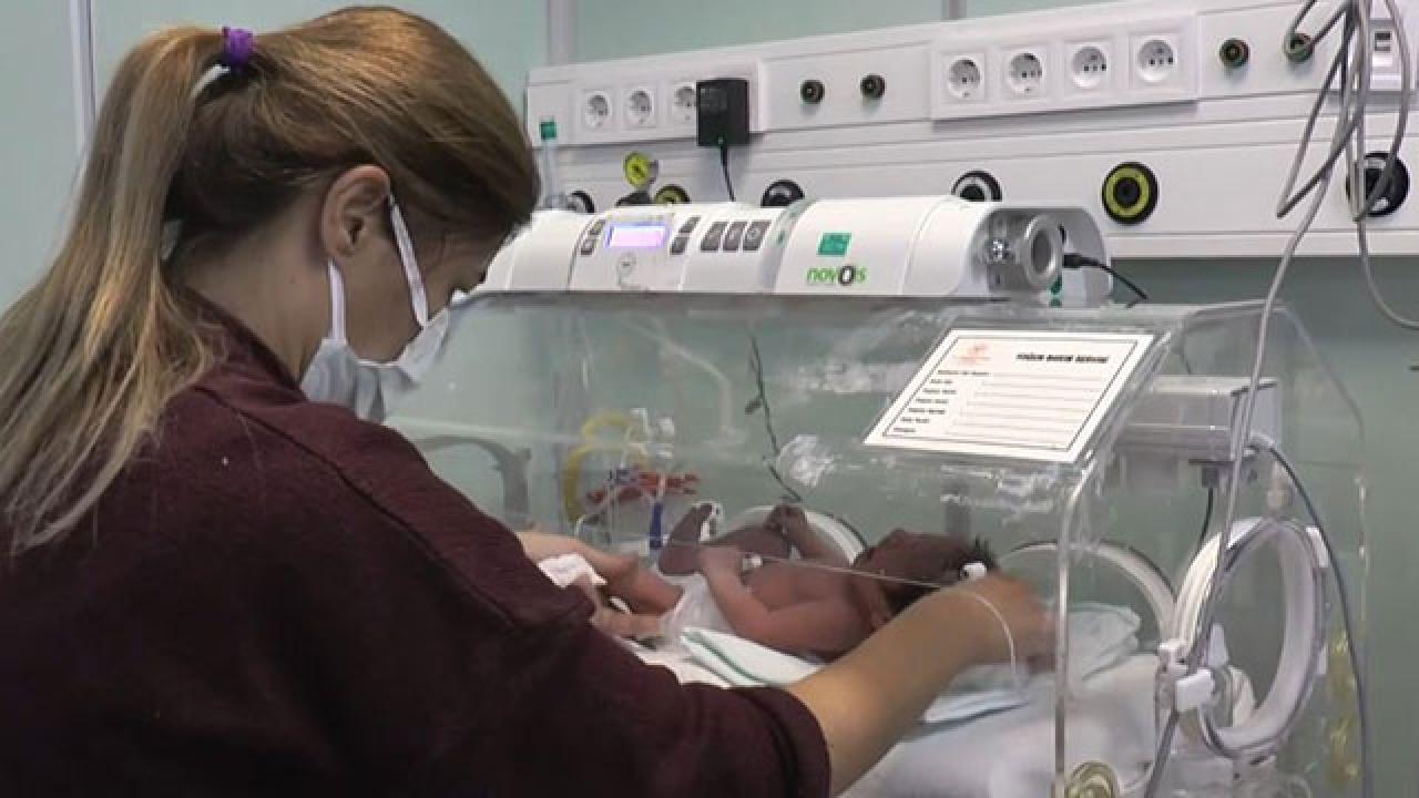 Adıyaman'da toprağa gömülen bebeğin sağlık durumu iyi