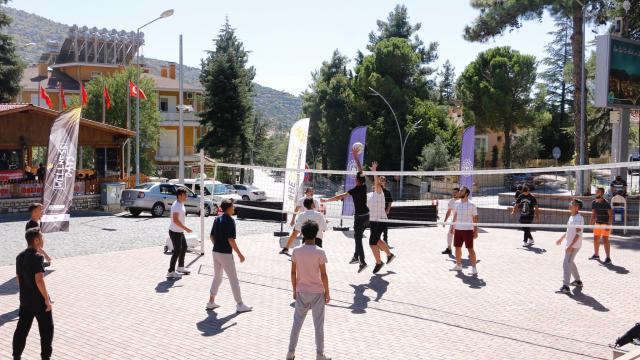 Aksekide `Avrupa Spor Haftası` etkinliklerle kutlandı
