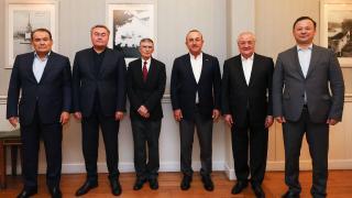 Aziz Sancar, Türk Konseyi dışişleri bakanlarının onur konuğu oldu
