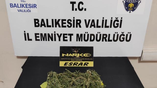 Balıkesirde polis 191 şahsı gözaltına aldı