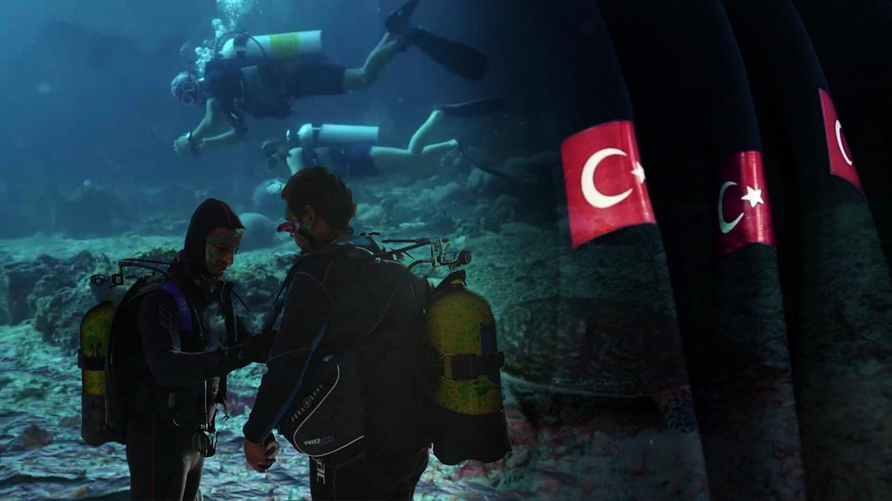 Türkiye'nin gözde dalış rotaları