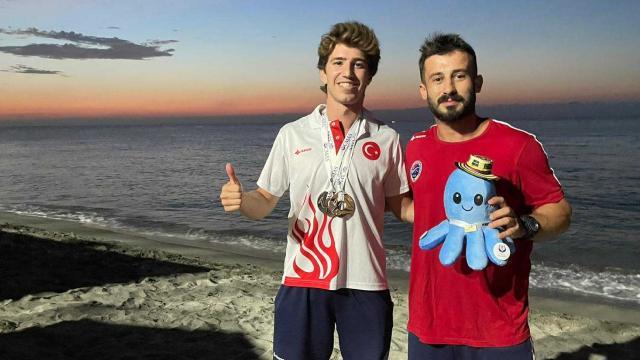 Milli sporcu Derin Toparlak dünya üçüncüsü oldu
