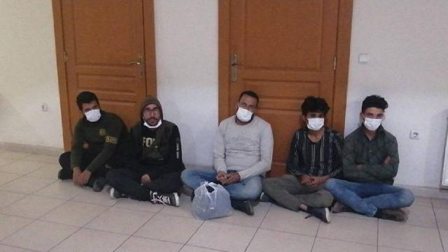 Hatayda 22 düzensiz göçmen yakalandı