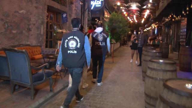 İstanbulda eğlence mekanları denetlendi