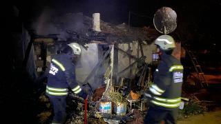 Tekirdağ'da yangın: Ev kullanılamaz hale geldi
