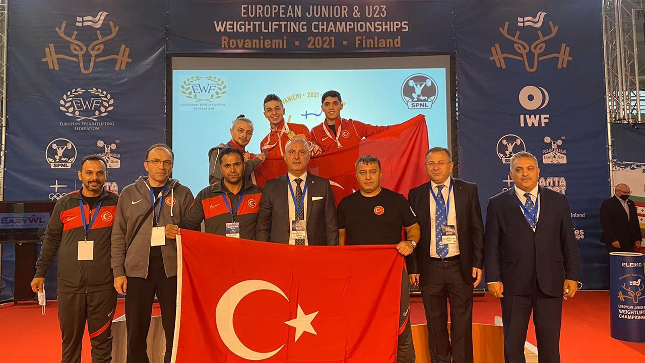 Millilerden Avrupa Halter Şampiyonası'nda 6 madalya