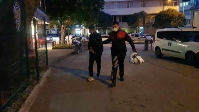 İnegölde cep telefonu hırsızlığı şüphelisi gözaltına alındı