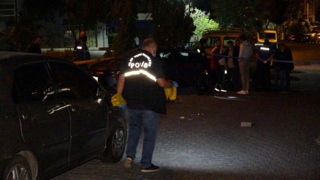 İzmirde silahlı saldırı: 1 ölü