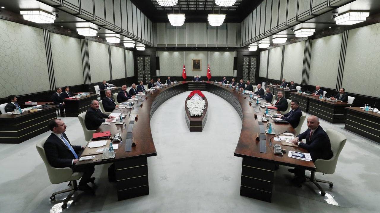 Kabine Toplantısı sona erdi