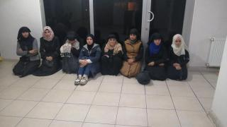 Hatay'da 22 kaçak göçmen yakalandı