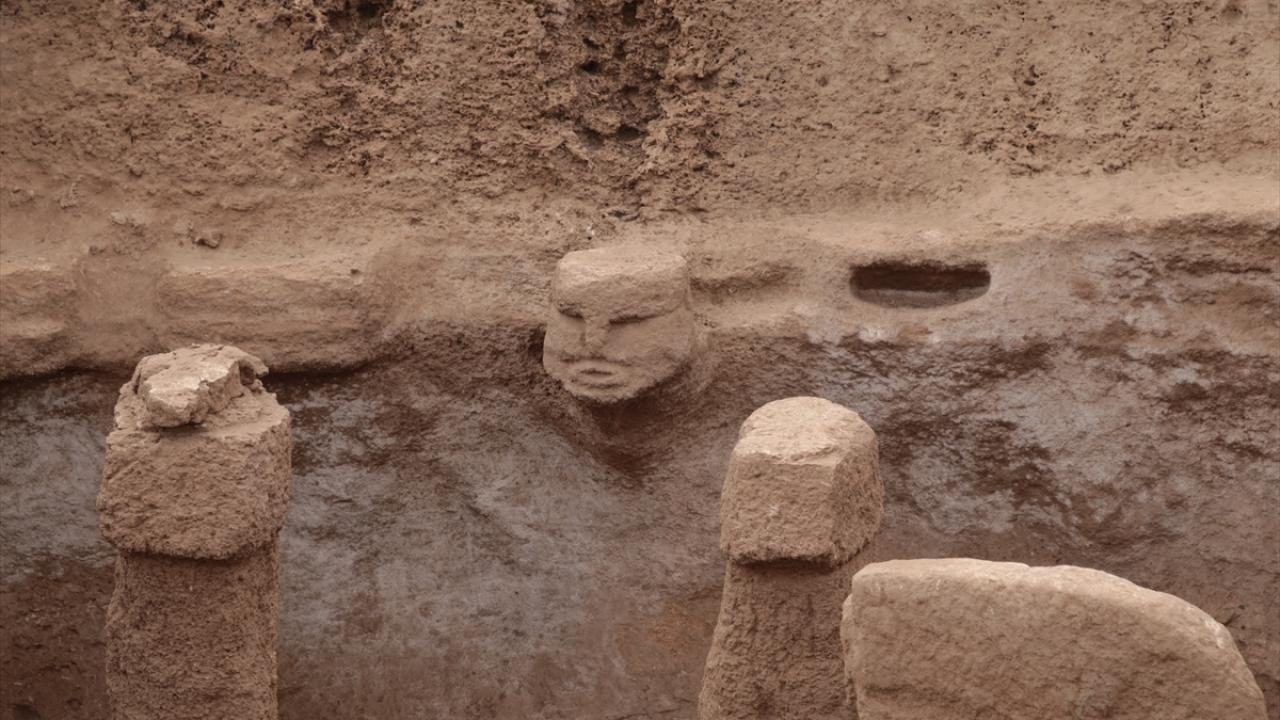 Karahantepe'nin 3 boyutlu heykelleri