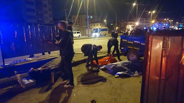 Zonguldakta otomobille çarpışan tarım aracı takla attı: 1 ölü, 2 yaralı