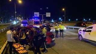 İstanbul'da zincirleme kaza: 2 yaralı