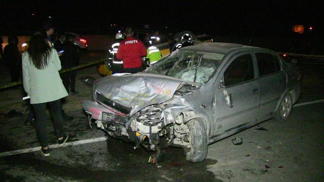 Kahramanmaraşta zincirleme trafik kazası: 7 yaralı
