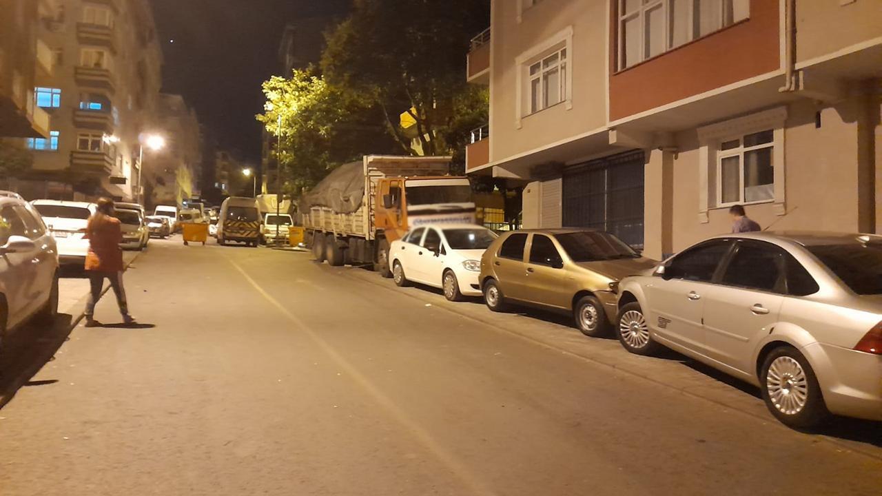 Freni boşalan kamyon 9 araca çarparak durabildi