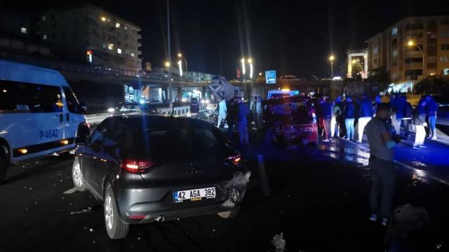 Kocaelide zincirleme trafik kazası: 7 yaralı