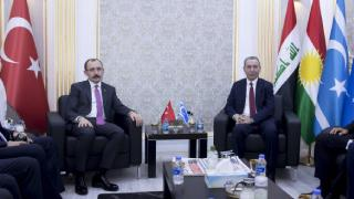 Bakan Muş, Türkmen Bakan Maruf ile görüştü