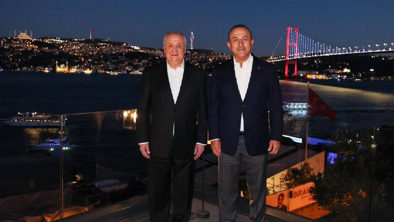 Bakan Çavuşoğlu'ndan Afganistan'da Özbekistan ile işbirliği mesajı