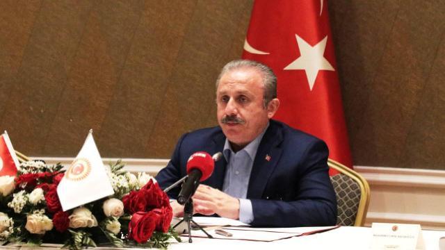 TBMM Başkanı Şentop, Kazakistanda Türk iş dünyası temsilcileriyle görüştü