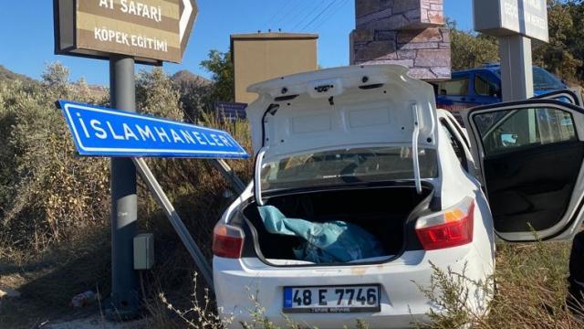 Bodrumda kaza yapan hırsızlık şüphelileri kovalamaca sonucu yakalandı