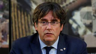 Eski Katalan lider Puigdemont Brüksel'e döndü
