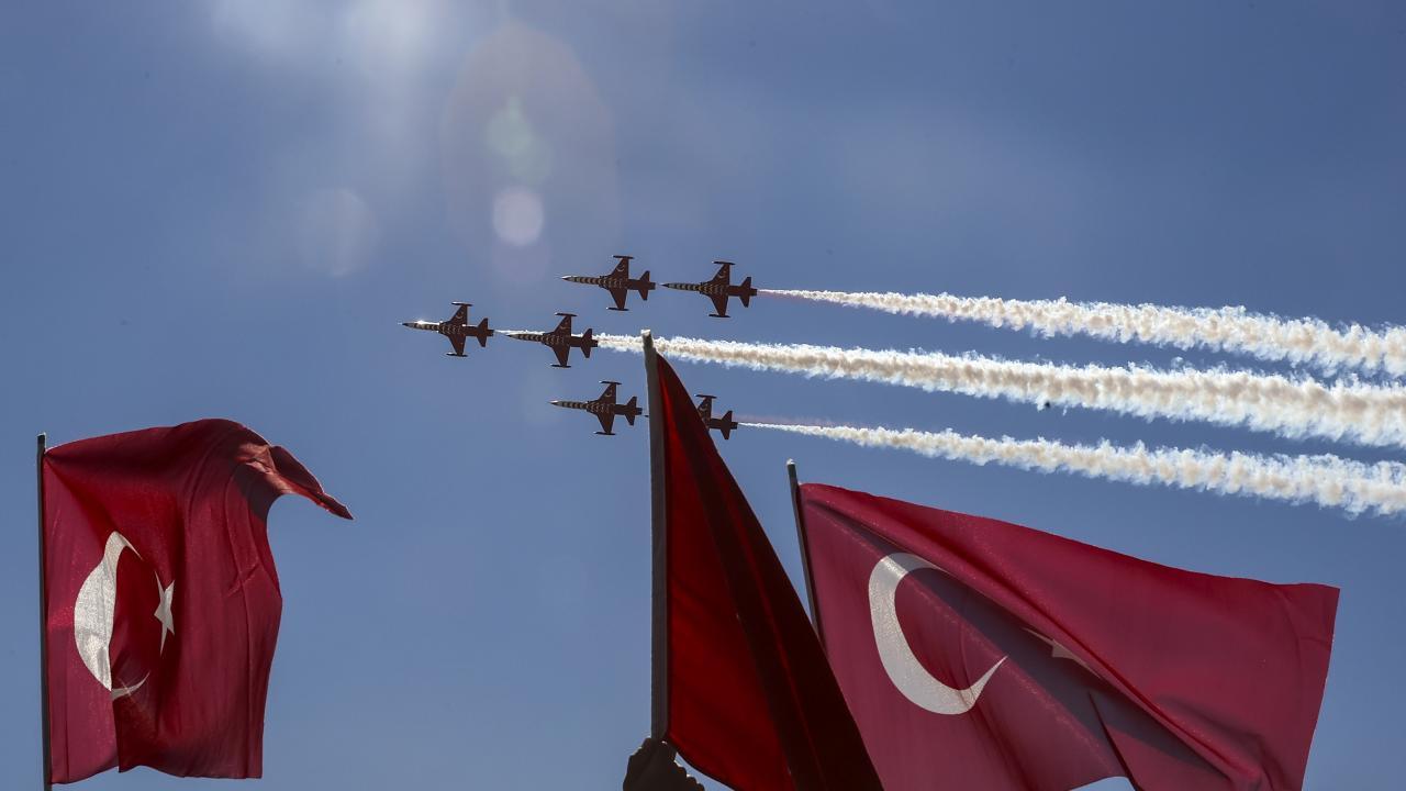 Türk Yıldızları TEKNOFEST'te