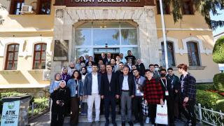 Tokat Belediye Bakanı Eroğlu gençlerle bir araya geldi