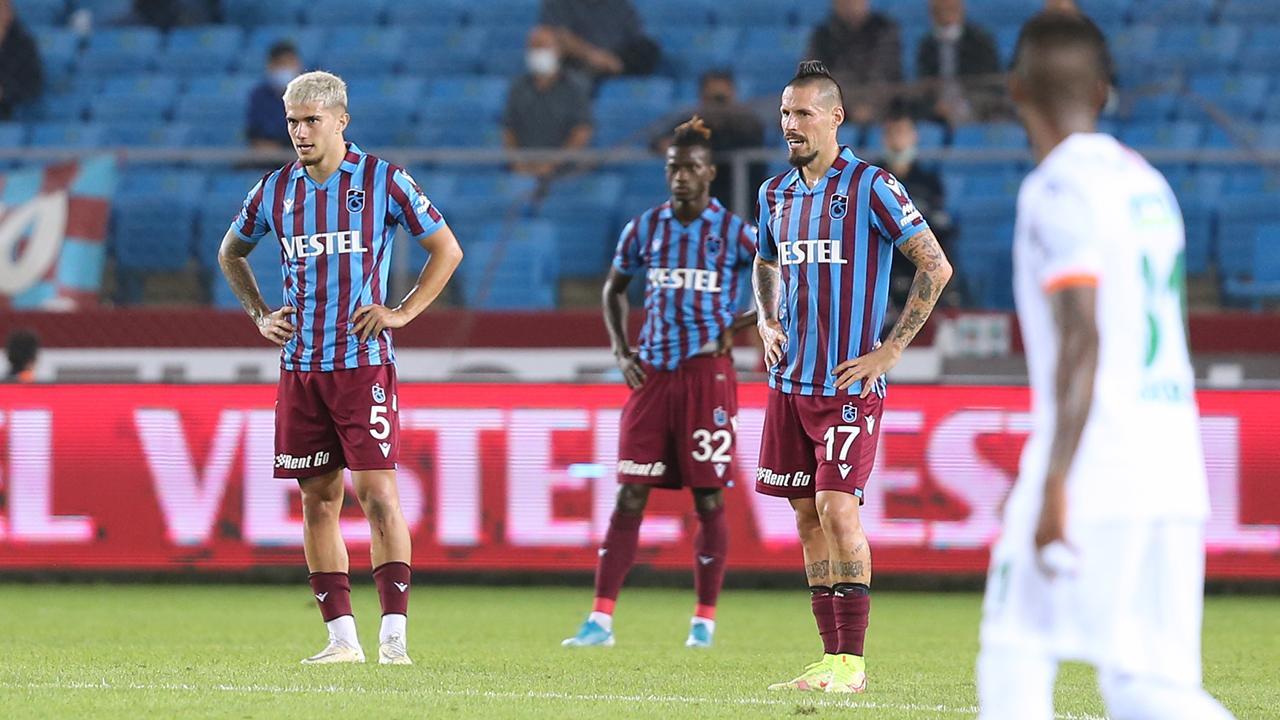 Trabzonspor'un beraberlik serisi sürüyor