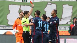 Trabzonspor'da Vitor Hugo PFDK'ya sevk edildi