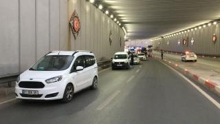 Mersin'deki zincirleme trafik kazasında 2 kişi yaralandı
