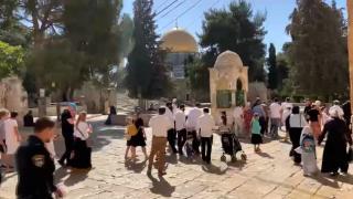 Fanatik Yahudiler Sukot Bayramı nedeniyle Mescid-i Aksa'ya baskın düzenledi