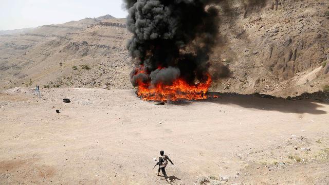 Husilere 24 saatte 20den fazla hava saldırısı: 67 ölü