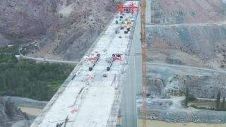 Yusufeli Barajı'nın 2'nci viyadüğü açılıyor