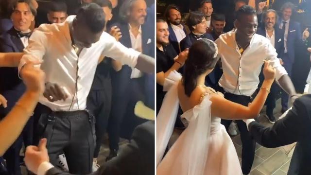 Mario Balotell düğünde halay çekip davul eşliğinde oynadı