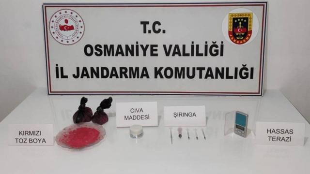 Osmaniyede 579,65 gram cıva ele geçirildi