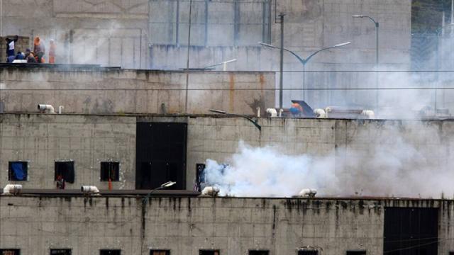 Ekvadorda cezaevinde çatışma: 24 ölü, 48 yaralı