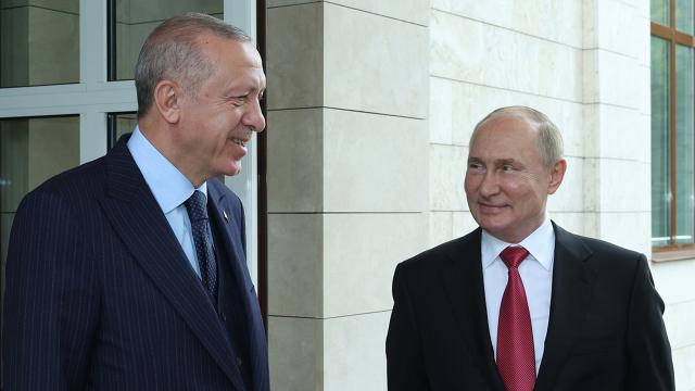 Cumhurbaşkanı Erdoğandan Soçi Zirvesi mesajı