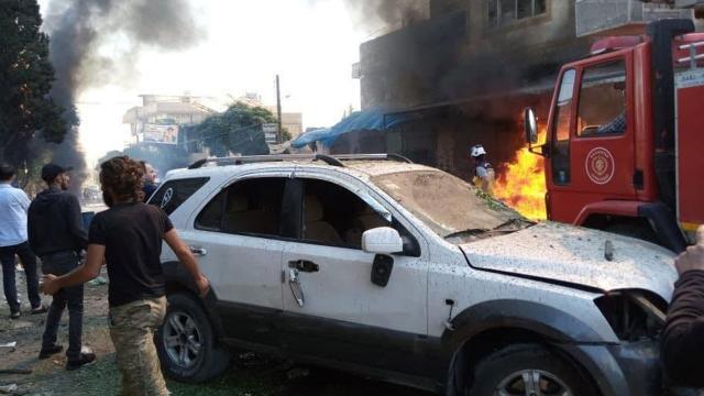 Fırat Kalkanı bölgesinde bombalı saldırı