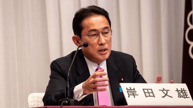 Japonyada iktidar partisinin başkanlığına Kişida Fumio seçildi