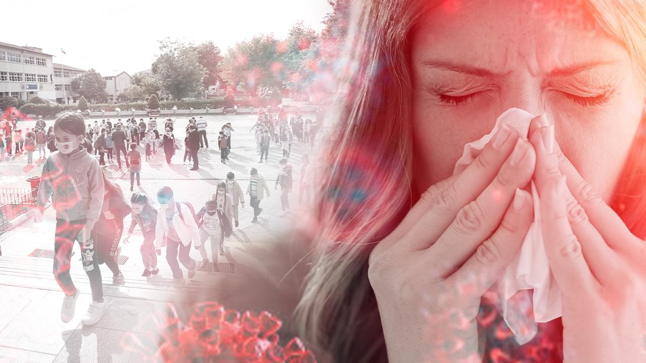 Maskeler çıktı, üst solunum yolu virüsleri arttı - Son Dakika Haberleri