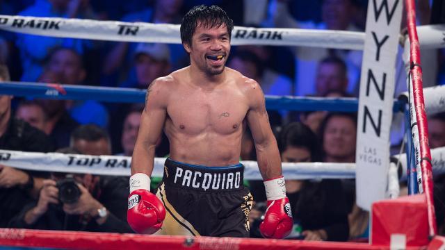 """""""8 farklı sıklette dünya şampiyonu tek boksör"""" Pacquiao boksu bıraktı"""