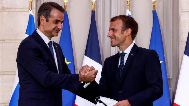 Yunanistan, Fransadan 3 fırkateyn alacak