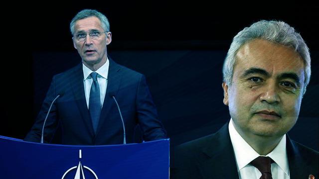 NATO Genel Sekreteri Stoltenberg ile IEA Başkanı Birol görüştü