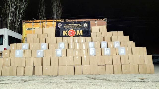 Gaziantepte 16 ton etil alkol ele geçirildi